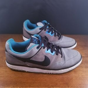 Men's Nike Casual Blue and Grey Shoes